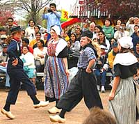 Dutch Folk Dancing