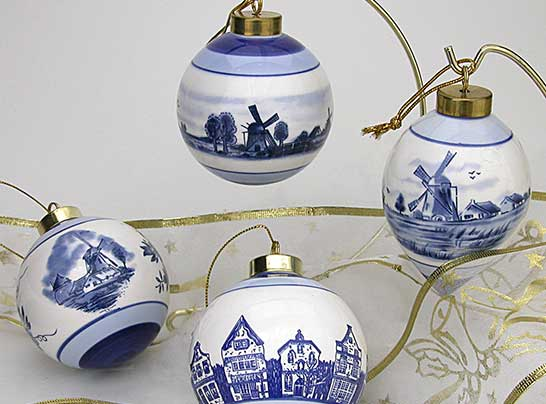 Christmas Ornaments from Nelis Dutch Village