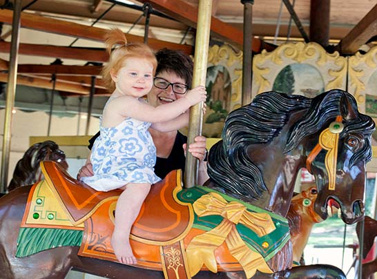 Dutch Village Holland Michigan Restored Carousel