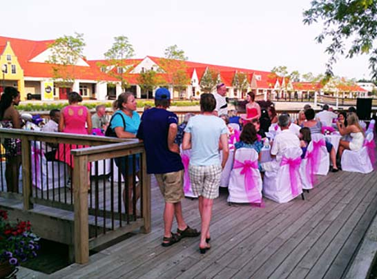 weddings and group events at Dutch Village