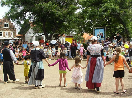 Learn a Dutch Dance at Holland Michigan Dutch Village