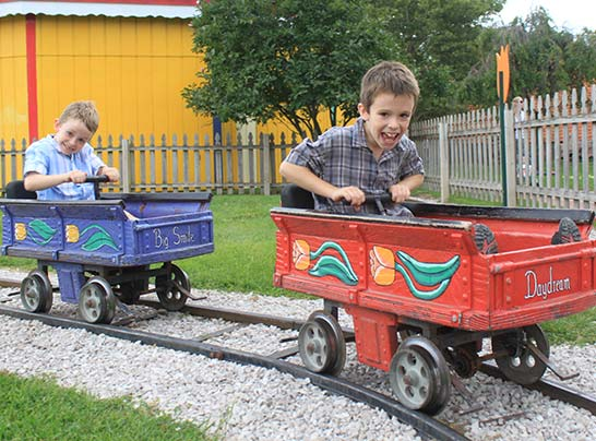 Nelis Dutch Village Power Your Own Train