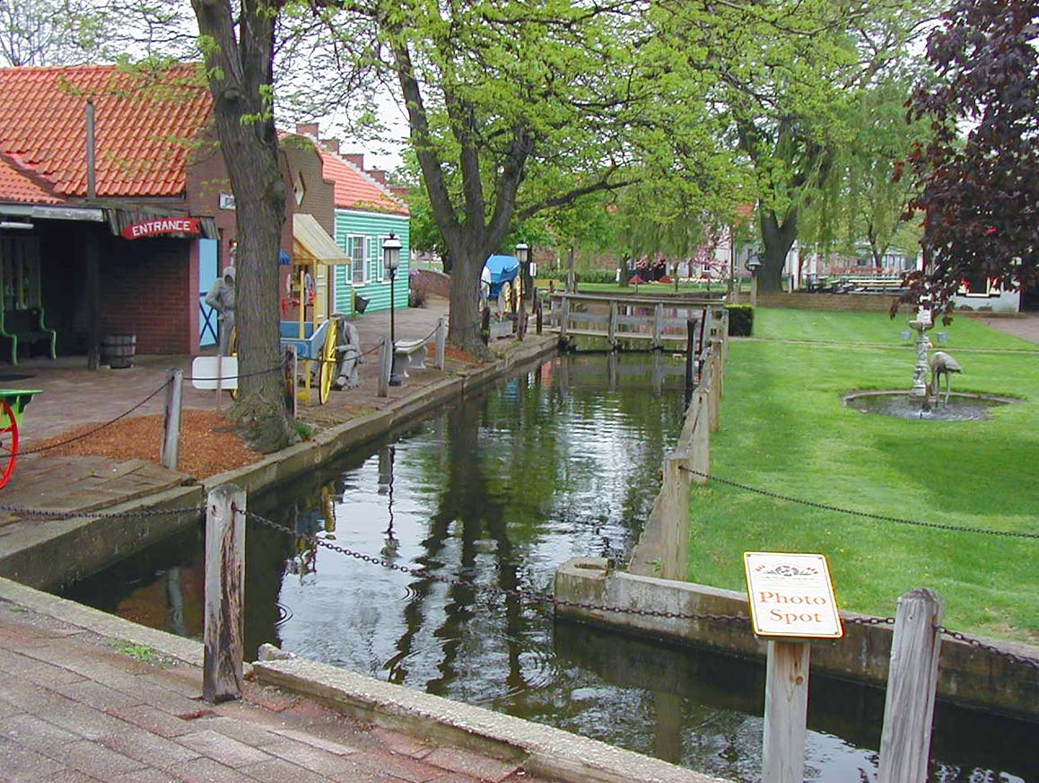 Dutch Village Canal Holland Michigan
