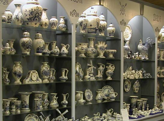 Largest Showroom of Delftware in the US at Dutch Village, Holland MI