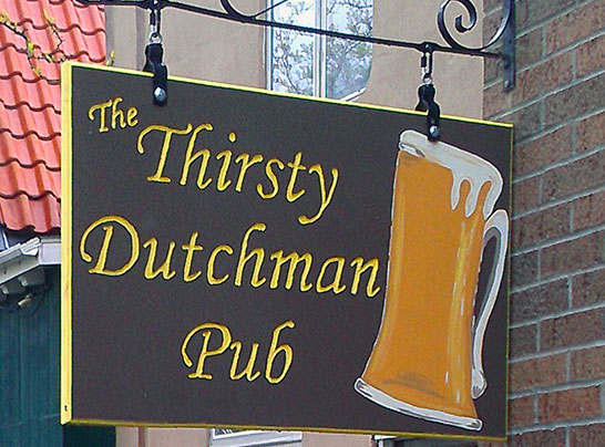 Dutch Village Holland Michigan Home of Thirsty Dutchman Pub